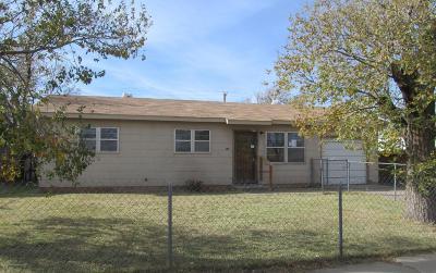 Amarillo Single Family Home For Sale: 2923 Vernon N St