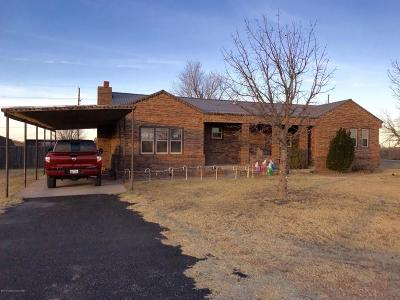 Fritch Single Family Home For Sale: 513 Aaron