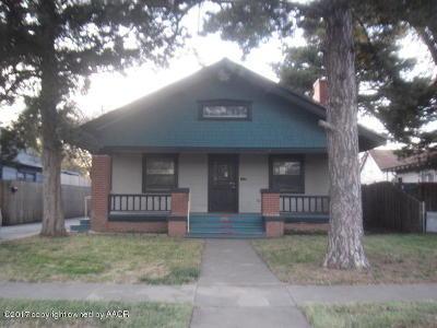 Amarillo Single Family Home For Sale: 1910 Van Buren St