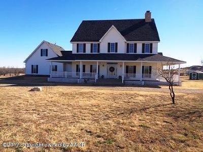Amarillo Single Family Home For Sale: 8401 Rapstine Cir