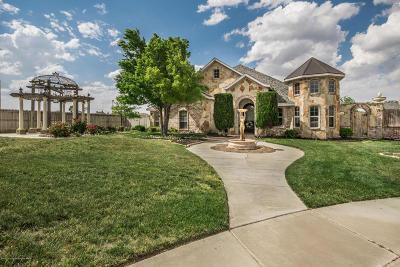 Amarillo Single Family Home For Sale: 6606 Pepper Tree Pl