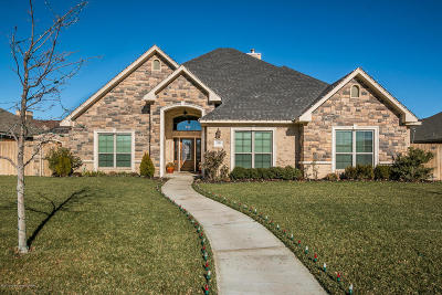 Amarillo Single Family Home For Sale: 7504 Continental Pkwy