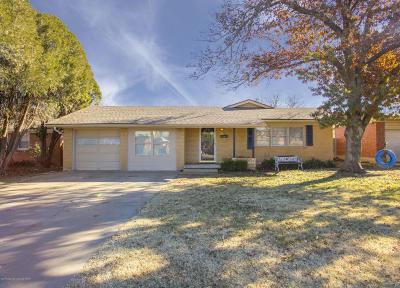 Amarillo Single Family Home For Sale: 3509 Linda Dr