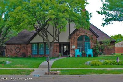Randall County Single Family Home For Sale: 6500 Kingsbury Dr