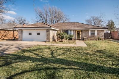 Amarillo Single Family Home For Sale: 3907 Danbury Dr
