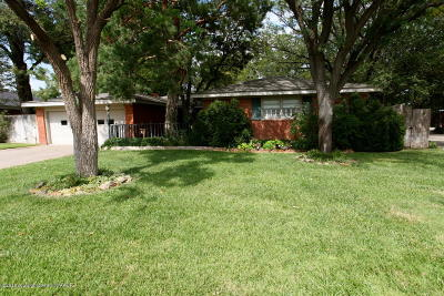Potter County, Randall County Single Family Home For Sale: 3006 Brent Wood Dr