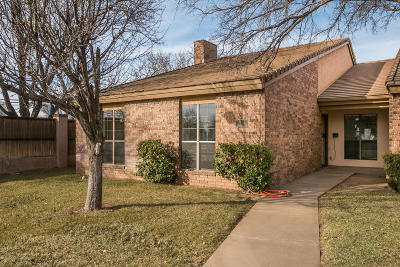 Amarillo Condo/Townhouse For Sale: 5928 Amberwood Ln