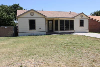 Panhandle Single Family Home For Sale: 408 Franklin Ave