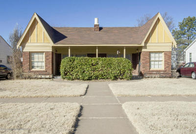 Amarillo Multi Family Home For Sale: 2904 Van Buren S St
