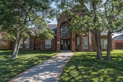Amarillo Single Family Home For Sale: 7714 Bent Tree Dr