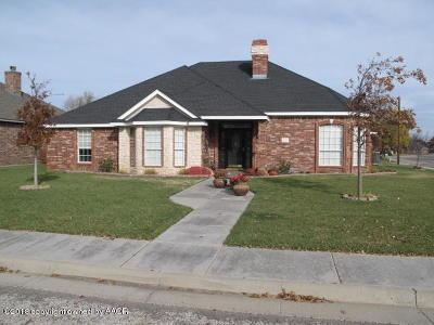 Randall County Single Family Home For Sale: 5833 Nicholas Cir
