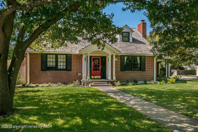 Amarillo Single Family Home For Sale: 1600 Crockett St