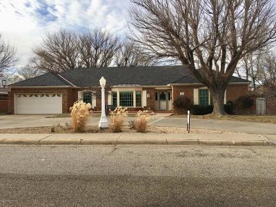 Amarillo Single Family Home For Sale: 6204 Gainsborough Rd