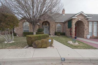 Amarillo Condo/Townhouse For Sale: 1300 Westcliff Pkwy #15
