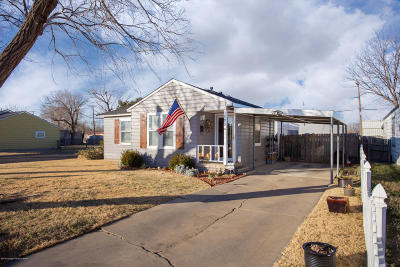Amarillo Single Family Home For Sale: 1726 Highland St