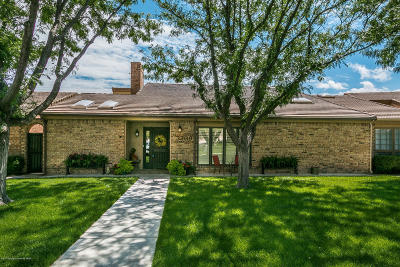 Amarillo Condo/Townhouse For Sale: 3209 Amberwood Ln