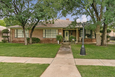 Amarillo Single Family Home For Sale: 7412 Dreyfuss Dr