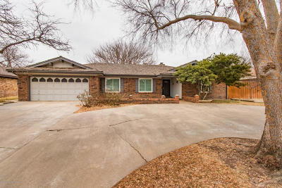 Amarillo Single Family Home For Sale: 3709 Langtry Dr