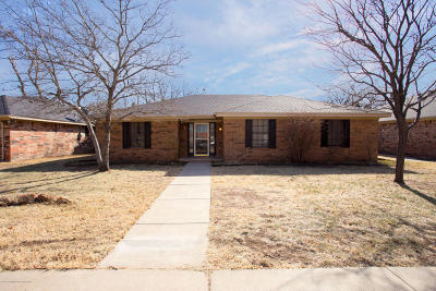 Potter County, Randall County Single Family Home For Sale: 7703 Farrell Dr