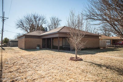 Potter County, Randall County Single Family Home For Sale: 6001 Elmhurst Rd