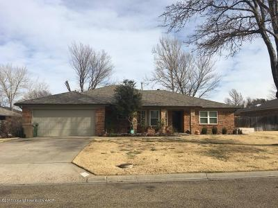 Borger Single Family Home For Sale: 219 Somerset St
