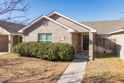 Amarillo Condo/Townhouse For Sale: 6606 Mosley St