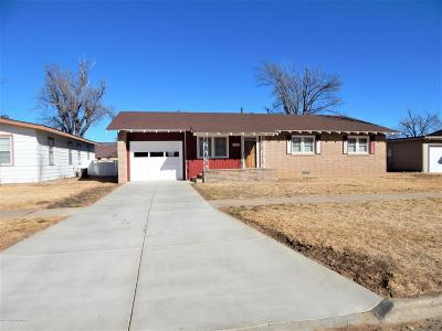 Carson County Single Family Home For Sale: 1006 Franklin