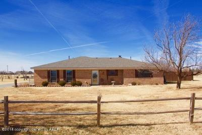 Amarillo Single Family Home For Sale: 14680 Macarthur Trl