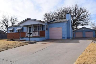 Borger Single Family Home For Sale: 206 Sarasota St.