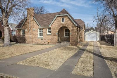 Amarillo Single Family Home For Sale: 3904 Cheyenne Ter