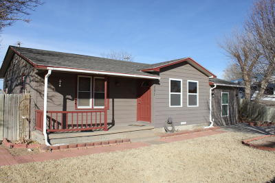 Fritch Single Family Home For Sale: 281 Overland Trl