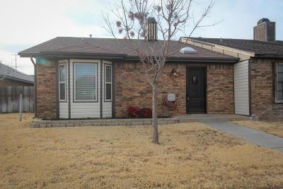 Amarillo Condo/Townhouse For Sale: 7008 Benwood Sq