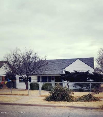 Amarillo Single Family Home For Sale: 835 Alabama St