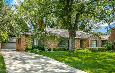 Amarillo Single Family Home For Sale: 2409 Lipscomb S St
