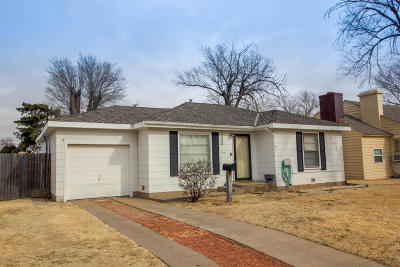Amarillo Single Family Home For Sale: 4820 10th SW Ave