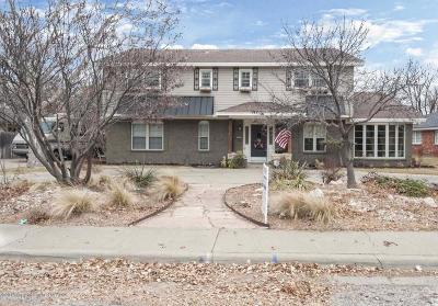 Amarillo Single Family Home For Sale: 3409 Carlton Dr