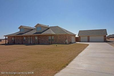Amarillo Single Family Home For Sale: 20149 Prairie Wind Rd