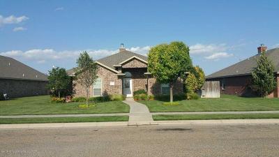 Amarillo Single Family Home For Sale: 7703 Fresno Dr