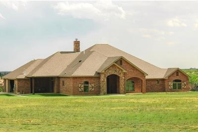 Amarillo Single Family Home For Sale: 14100 Wilderness Trl