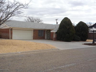 Borger Single Family Home For Sale: 1503 Canyon Dr