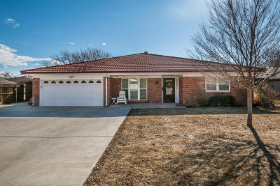 Amarillo Single Family Home For Sale: 3905 Justin Dr