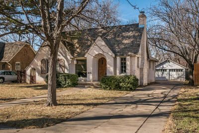 Amarillo Single Family Home For Sale: 2614 S Ong St
