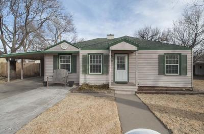 Amarillo Single Family Home For Sale: 1504 Clover Dr