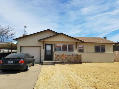 Borger Single Family Home For Sale: 205 Sarasota