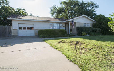 Amarillo Single Family Home For Sale: 1507 Bell St