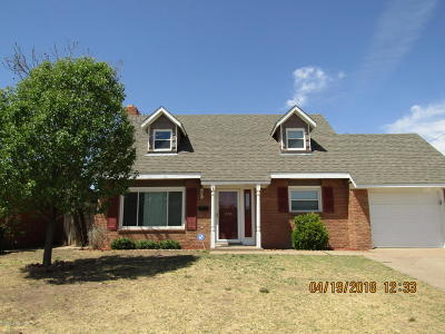Borger Single Family Home For Sale: 1508 Hector