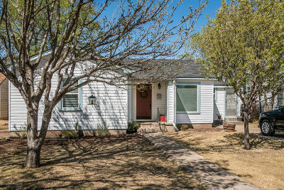 Amarillo Single Family Home For Sale: 3306 Tyler S St