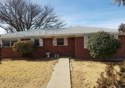 Amarillo Single Family Home For Sale: 7627 Bluebonnet Dr