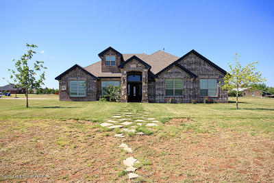 Amarillo Single Family Home For Sale: 8120 Fewell Trl