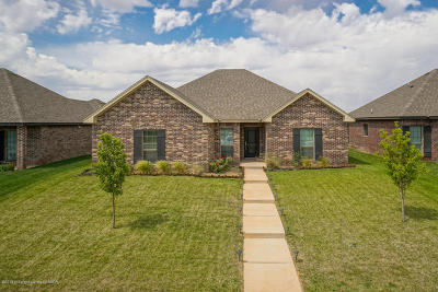Amarillo Single Family Home For Sale: 7718 Legacy Pkwy